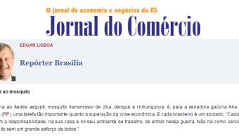 Jornal do Comércio: Edgar Lisboa - Guerra ao mosquito
