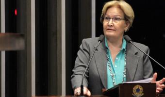 Ana Amélia defende voto aberto na sessão que decidirá sobre afastamento de senador
