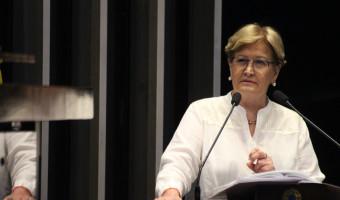 Ana Amélia defende transparência na votação do afastamento de senador