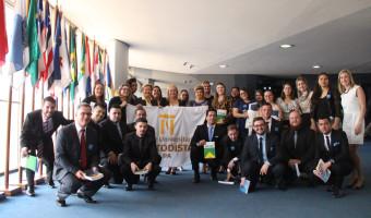 Mais de 30 turmas de alunos e professores visitaram o gabinete neste ano