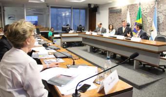 Na reunião do Grupo Parlamentar Brasil/Argentina, Ana Amélia alerta para a crise no setor leiteiro