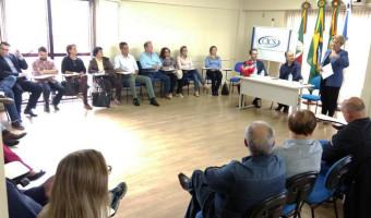 Em agenda na CICS e no Hospital São Carlos, senadora recebe demandas do setor empresarial e na área da saúde