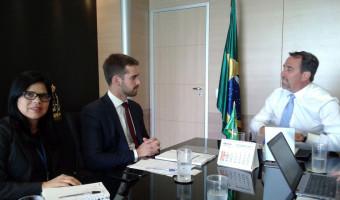 Audiência no Ministério da Integração Nacional debate destinação de recursos para Pelotas