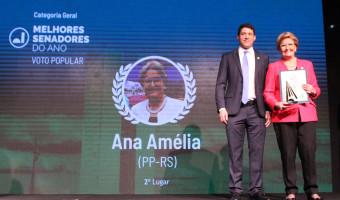 Ana Amélia é escolhida entre os melhores senadores no prêmio Congresso em Foco