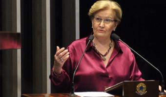 Ao comentar níveis de violência e assassinato de jovem, Ana Amélia defende projeto que restringe saída temporária de presos