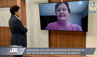 Lideranças que pregam guerra civil após condenação de Lula não têm moral para atacar estado democrático, diz Ana Amélia na Record News