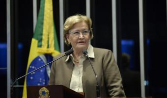 """""""Não podemos admitir ameaças e incitação à violência"""", defende Ana Amélia"""