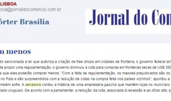 Jornal do Comércio: Edgar Lisboa - Sem lei e com menos