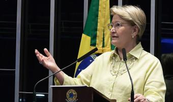 Ana Amélia defende regras para o lobby para reduzir a corrupção