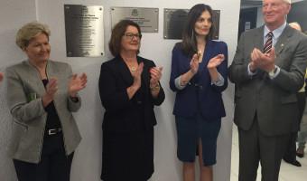 Senadora participa de inauguração de Centro de Eventos em Tapera