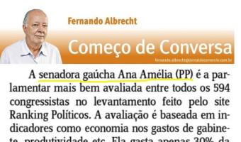 Jornal do Comércio: Fernando Albrecht - Bem na parada