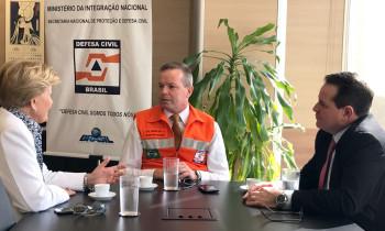 Secretário Nacional da Defesa Civil aguarda documentação para liberar recursos para Lagoa Vermelha