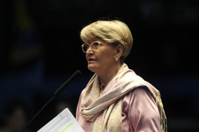 Decisão do STF sobre código florestal é lembrada por Ana Amélia no Plenário